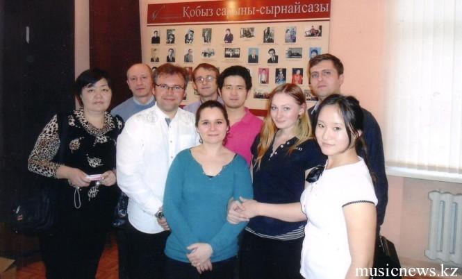 гости фестиваля баяна в Алматы