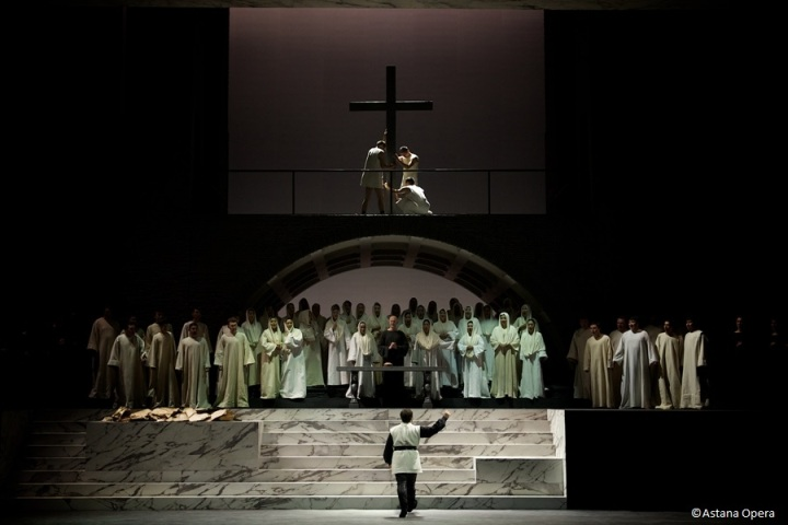 опера Аттила в Астана-опера