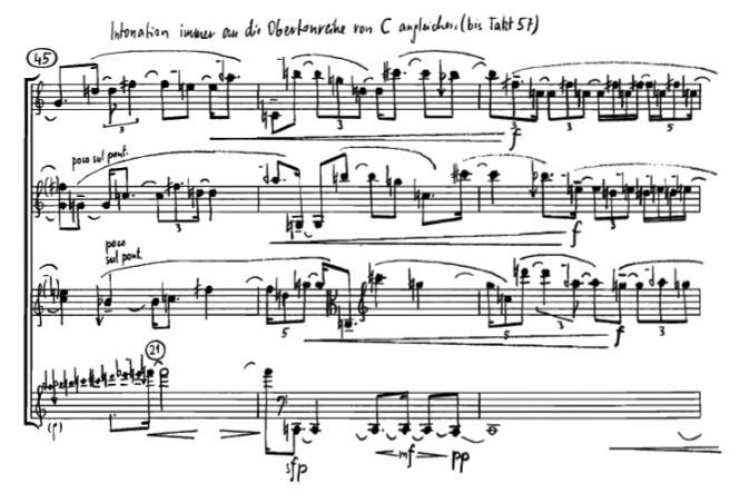 Georg Friedrich Haas - String quartet #2
