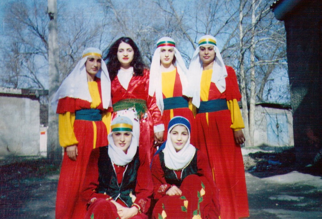 The ethno-folklore ensemble of song and dance «Zilan» on Nauryz celebrating