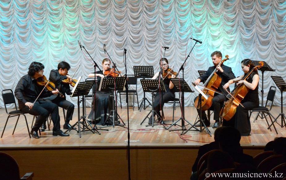 """Струнный секстет """"Воспоминание о Флоренции"""" в исполнении Young Eurasian Soloists"""