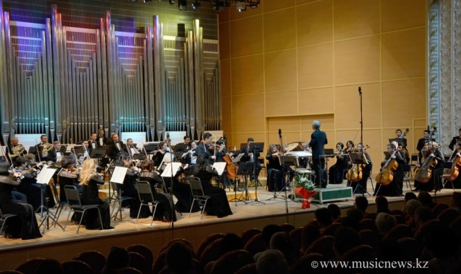 Концерт абонемента ГАСО в филармонии