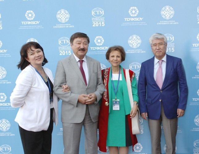 ICTM конференция Астанада