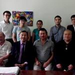 Выпускники и преподаватели кафедры композиции 2015 года