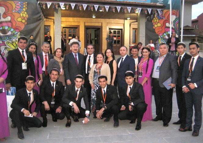 түркі халықтарының театр фестивалі