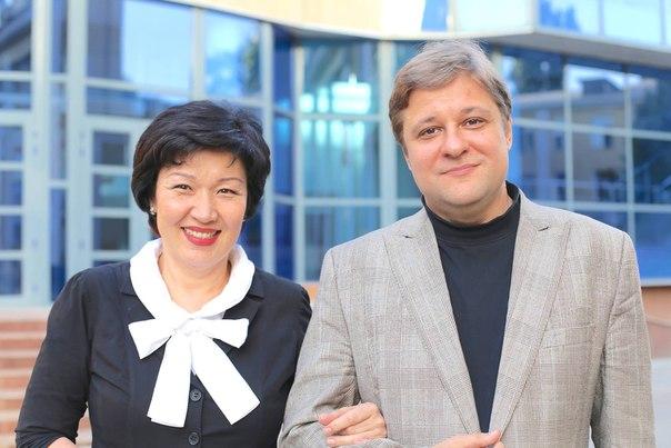 Петр Лаул и Жания Аубакирова