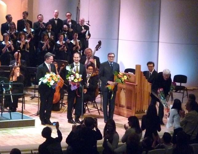 Высокая месса Баха в Московской государственной филармонии