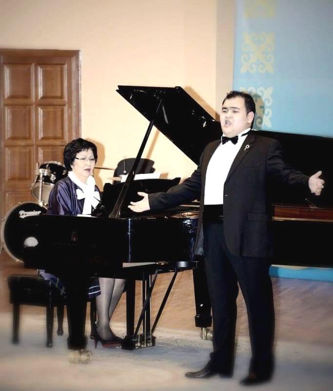 Балуан Беркенов, Жания Аубакирова