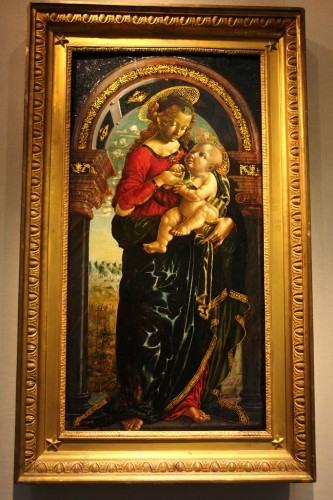 «Мадонна с Младенцем под аркой» Бернардино Бутиноне