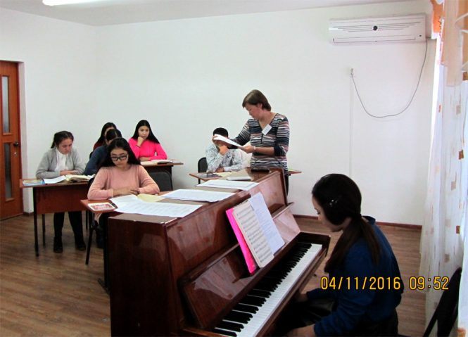 семинар-практикум для преподавателей ДМШ, колледж им. Таттимбета