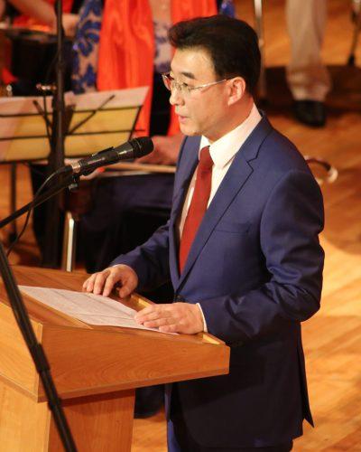 Генеральный консул КНР в Алматы господин Чжан Вэй.
