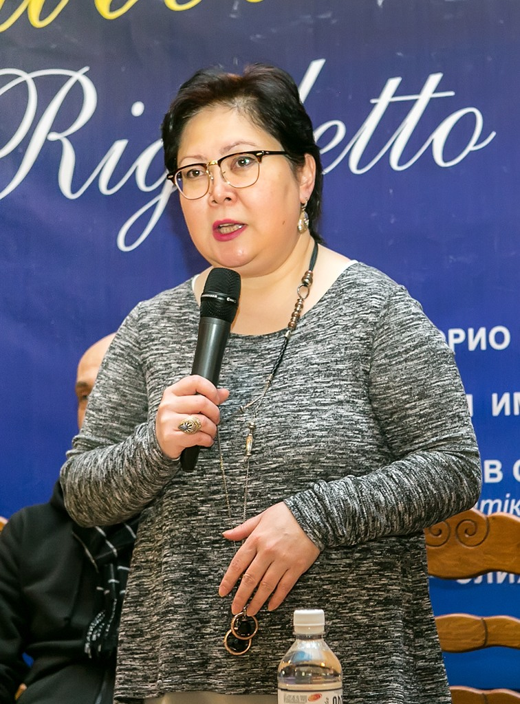 Ляйлим Имангазина