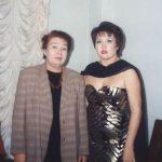 После концерта Айман Мусаходжаевой