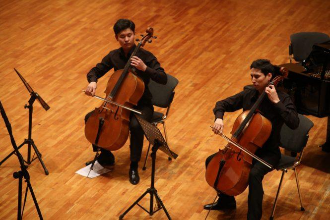 Сюита для двух виолончелей Давида Поппера