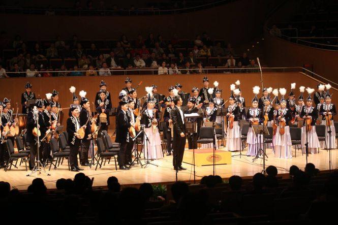 Оркестр казахских народных инструментов
