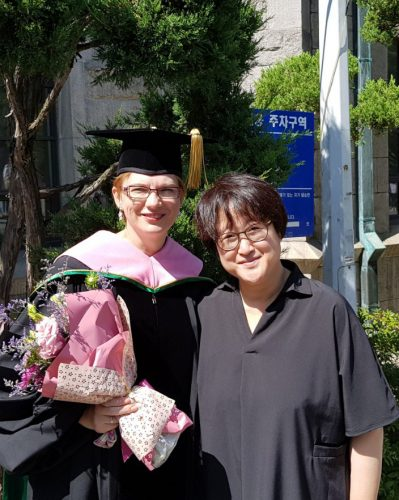 Eunha Kim, PhD in Musicology from the University of Vienna, Austria