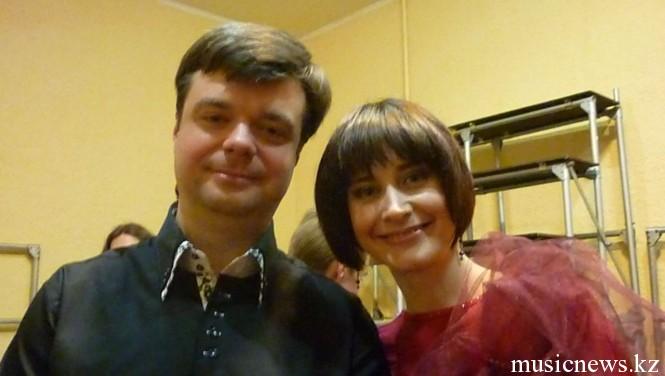 Мария Власова и Святослав Липс