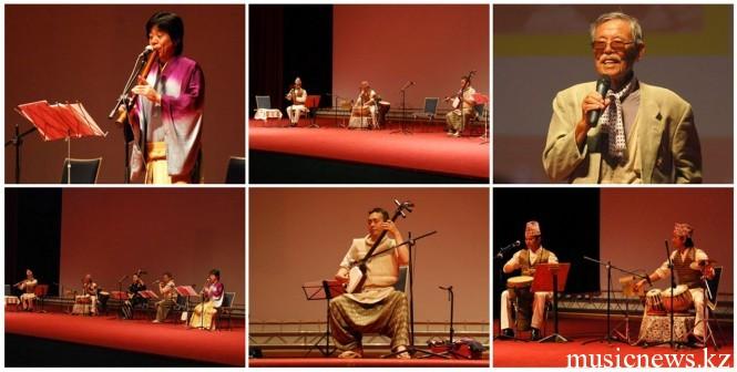 японские музыканты в Узбекистане