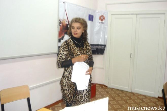 О.С. Насрудинова, РССШИ им. М. Атоева, Таджикистан
