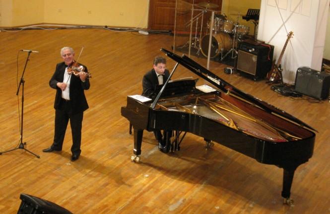 Вячеслав Зубков и Михаил Казиник