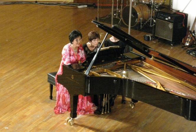 Жания Аубакирова и Гульнара Курамбаева