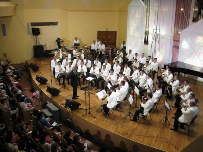 Государственный духовой оркестр Республики Казахстан, дирижёр - Канат Ахметов