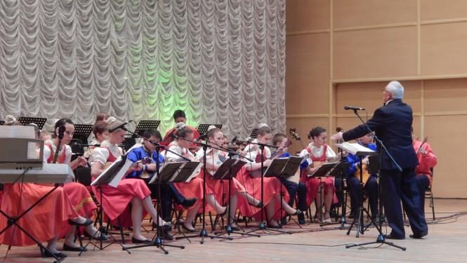 Русские узоры на концерте
