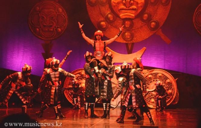 Балет Легенды Великой Степи, Предводитель вражеского войска
