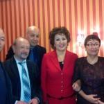 Караганда 2014 . После концерта памяти Е.Рахмадиева