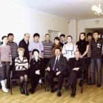 Студенты и преподаватели кафедры композиции и арт-менеджмента