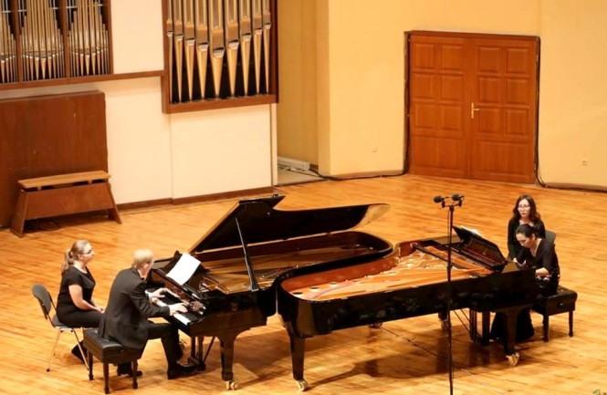 Андрей Дубов и Гульжан Узенбаева