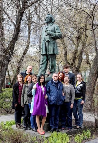 Семинар очерка и публицистики под руководством Юрия Сергеевича Апенченко
