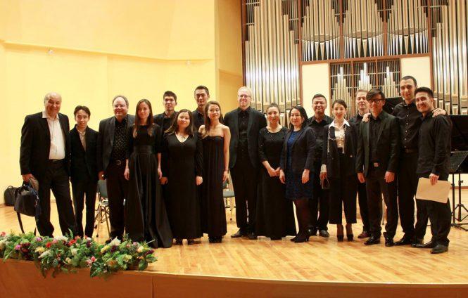 Игеру, композиторы, студенты. Наурыз XXI