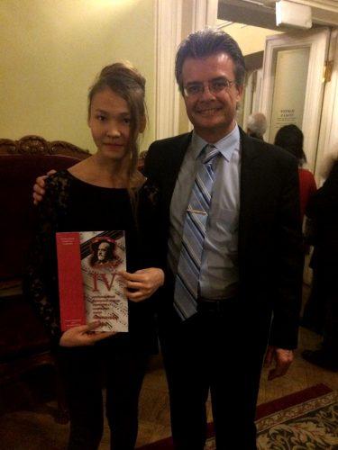 С членом жюри Алехандро Драго