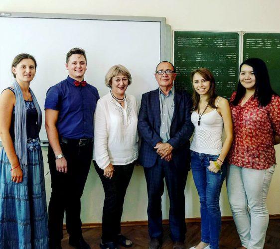 На встрече с профессором Саидой Елемановой