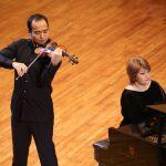 Ержан Кулибаев (скрипка), Ботагоз Унгарова (фортепиано)