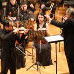 Солист Ержан Кулибаев (скрипка)