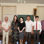 Айым Алмас с композиторами Казахстана