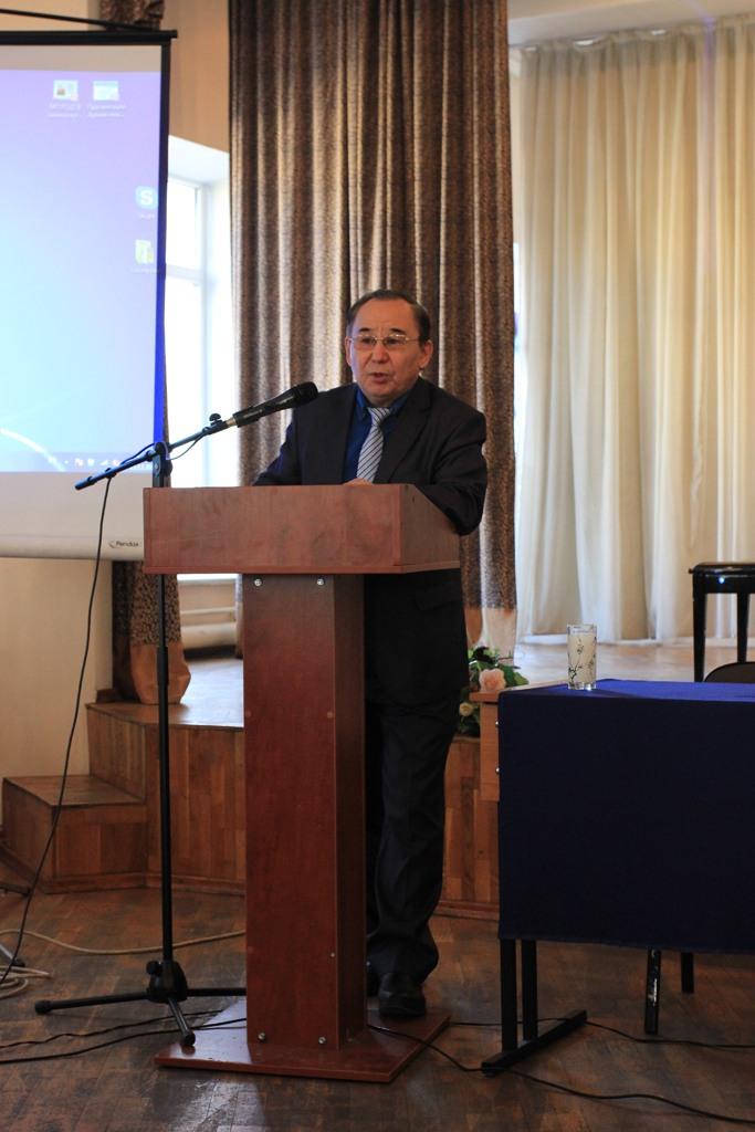 Доклад доктора филологических наук, проф. Т. Коныратбая