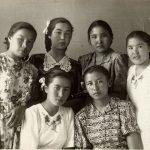 С. Кузембай. 10 класс, Алма-Ата, 01 мая 1955