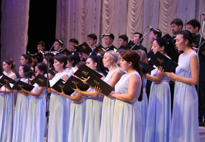 Немецкий реквием И.Брамса в Астане. Камерный хор