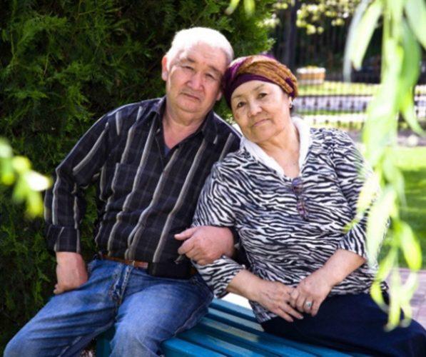 Ануар Бекжанов с супругой