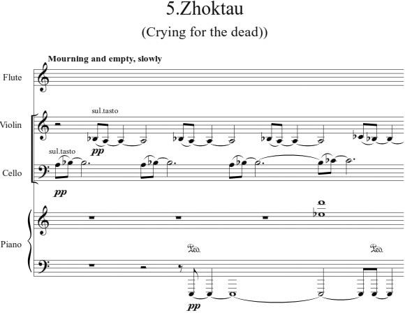 Бержапраков. 5 казахских песен