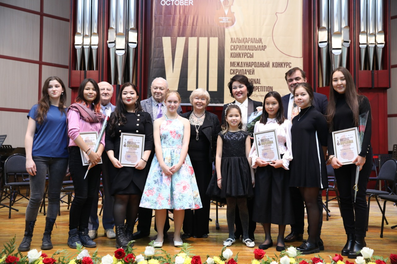 конкурс скрипачей в Нур-Султане